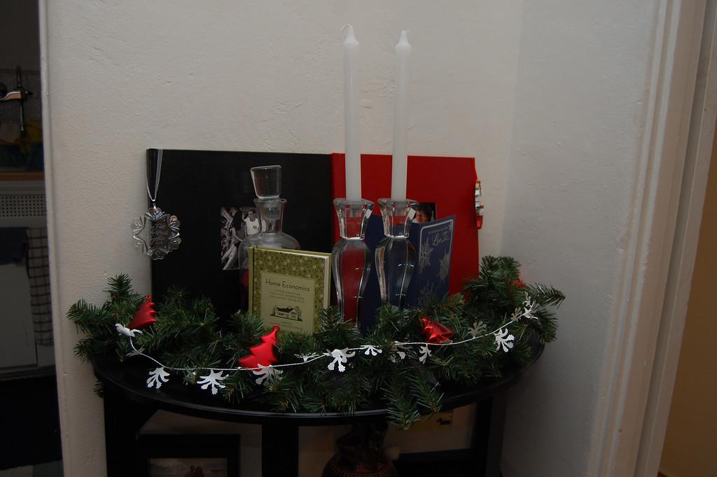 More Christmas decor.