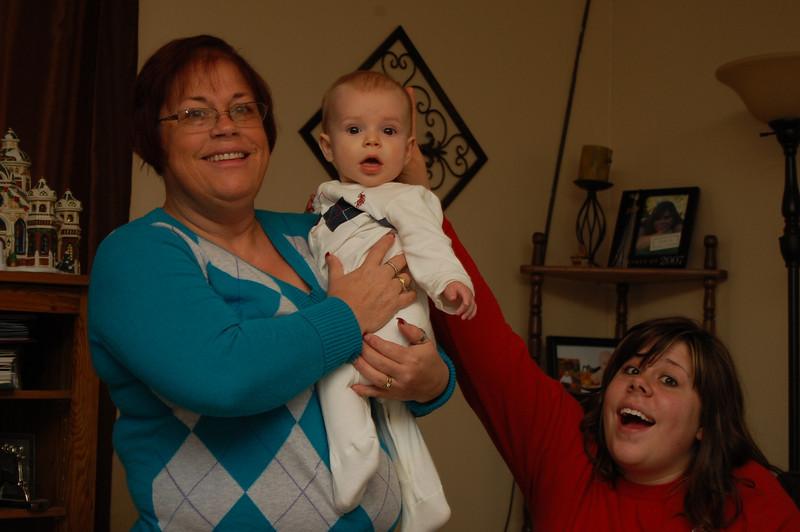 Mom, Levi and Sarah.