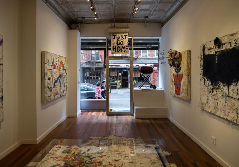Catinca Tabacaru Gallery Interior