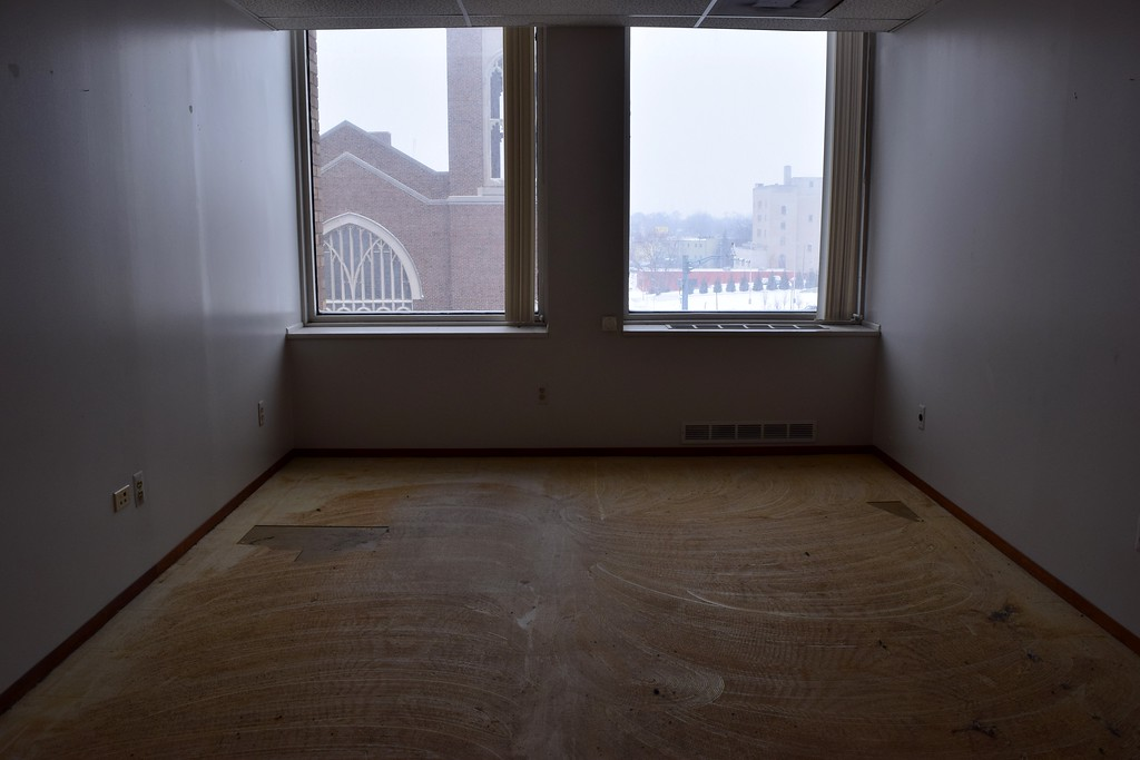 . Inside the Riker Building, 35 Huron St. in downtown Pontiac on Monday, March 13, 2017.