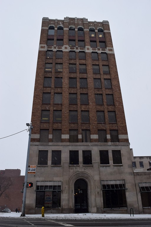 . The Riker Building, 35 Huron St. in downtown Pontiac on Monday, March 13, 2017.