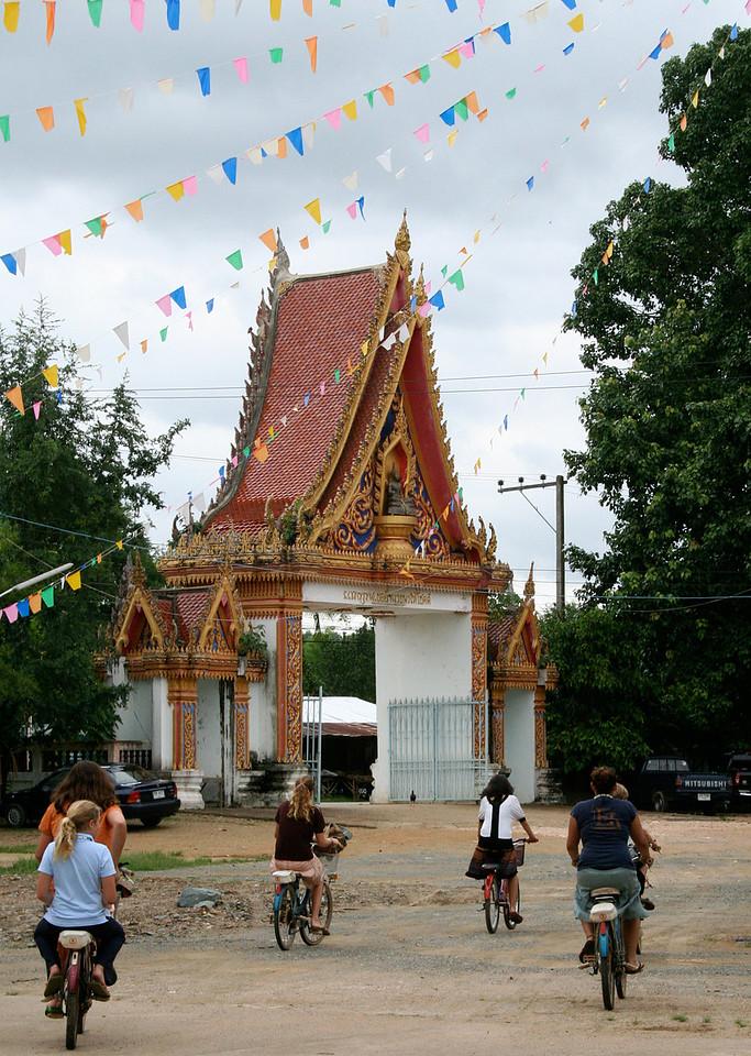 Bikes at Wat Pah Leurat