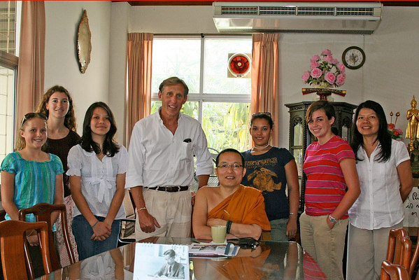 Studying Buddhism with Phramaha Boonchuay in Chiangmai