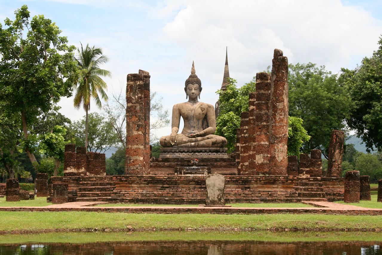 Buddha in Sukhothai, Thailand's original capital