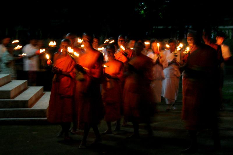 """Pah Leurat: """"Wiean-tiean"""" on Asanha Bucha day"""