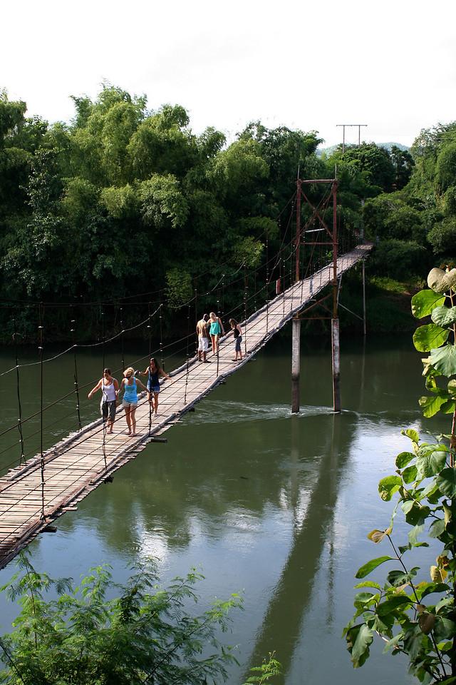 Bridge over the Nan River at Pah Tao