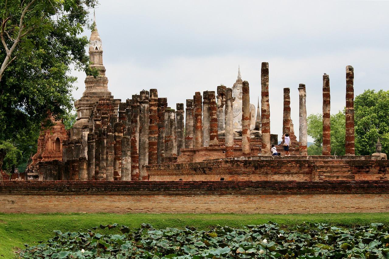 วัดมหาธาตุที่สุโขทัย Wat Mahathat, Sukhothai