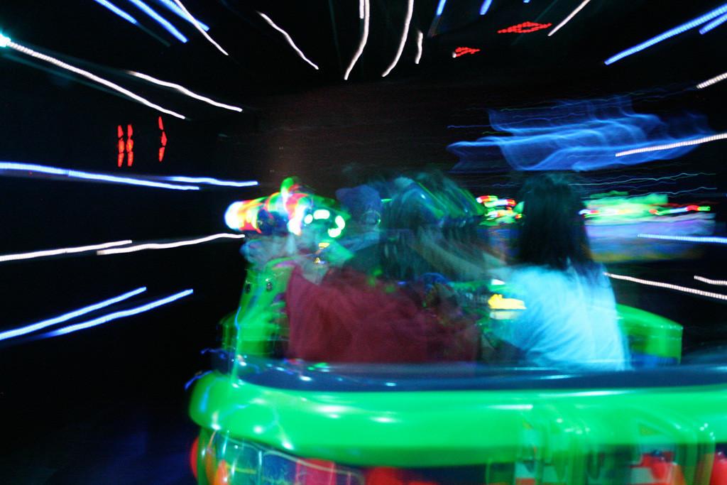 Buzz Lightyear ride at Disneyland