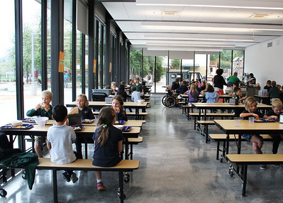 On the first floor you can also find the Lower School Dining Commons.