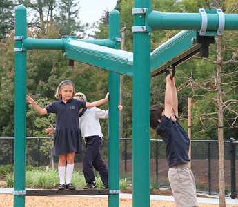 Building the new Lower School also meant expanding our playground.
