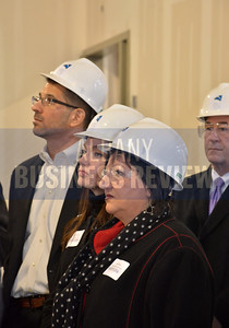 1-10-2017, Insider's Club tour of the Albany Capital Center. Rose Miller from Pinnacle Human Resources