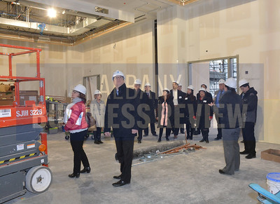 1-10-2017, Insider's Club tour of the Albany Capital Center.