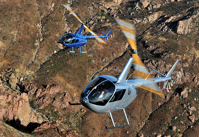 Skip Robinson, R44 and R66, Orbic Helicopters