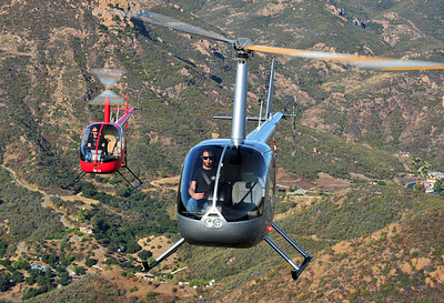 Skip Robinson, R22 Cadet and R44, Orbic Helicopters
