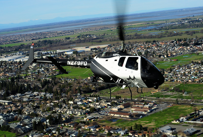 Skip Robinson, 505 Jet Ranger X, Sacramento Police
