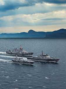 Surface vessels from Saab Kockums AB   Concept vessels including FAC 55, MCMV 80 and Next generation Corvvette