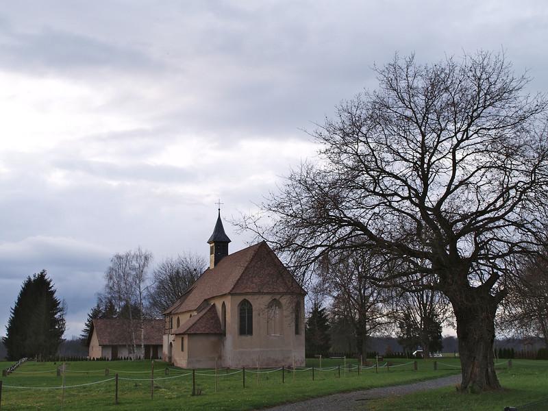 L'original : la chapelle ND du Chêne à Plobsheim (Alsace, France)