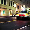 <b>Downtown Ambulance</b> - An ambulance races through downtown Boston after midnight.