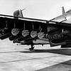 NAF AD-4 Skyraider BuNo 123904, FFAR Aero X6B rocket pods, Armitage Field,China Lake, 27 Feb 1954. Official U.S. Navy photo.
