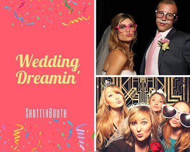 photo booths at wedding are better when it is ShutterBoothABQ