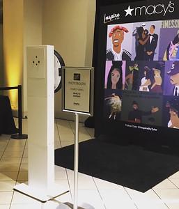 Digital Kiosk at Macy's in the Mall
