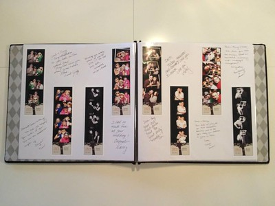 Memory books are a great wa to capture the moments of your event