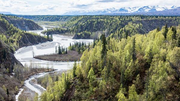 Hurricane Gulch vista   Alaska Railroad, Alaska