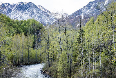 We traveled the Alaska Railroad from Denali to Anchorage, with a stop in Talkeetna.  Alaska Railroad, Alaska