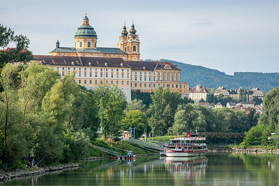 Melk Abbey  Wachau Valley, Austria