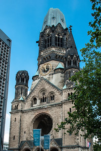 Kaiser Wilhelm Memorial Church  Kaiser-Wilhelm-Gedächtniskirche  Berlin, Germany