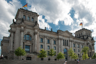 Parliament of the Federal Republic of Germany.  (Bundestag)  Berlin, Germany