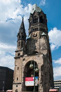 Kaiser Wilhelm Memorial Church  Kaiser-Wilhelm-Gedächtniskirche  Berlin, Germany