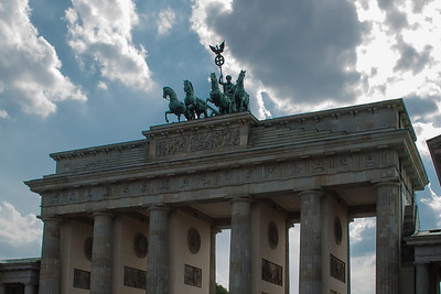 Brandenburg Gate  Berlin, Germany