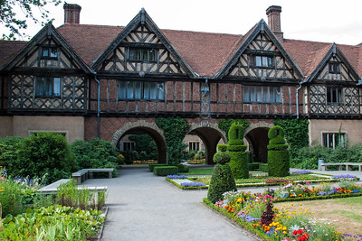 The Potsdam Conference was held at Cecilienhof, the home of Crown Prince Wilhelm Hohenzollern in July and August 1945.    Participants were the Soviet Union, the United Kingdom and the United States.  Potsdam, Germany
