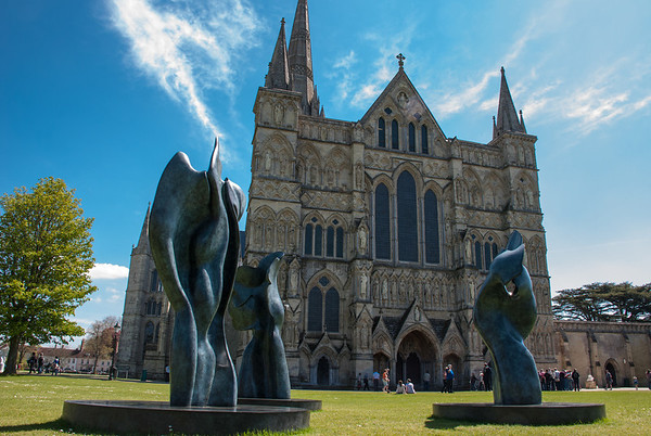Salisbury Cathedral  Salisbury Cathedral's copy of Magna Carta is the best preserved of the four remaining original exemplars.