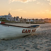 Cape May Beach at sunrise<br /> <br /> Cape May, NJ