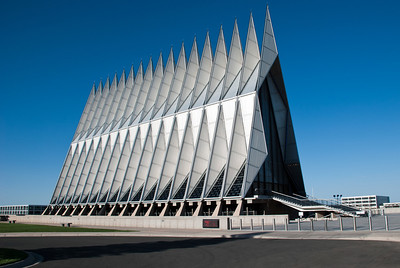 Air Force Academy Chapel  Colorado Springs, Colorado