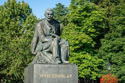 Hviezdoslav Square  Bratislava, Slovak Republic