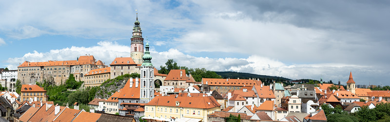 Cesky Krumlov Castle and town  Czech Republic