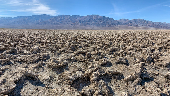 Devil's Golf Course  Death Valley National Park California