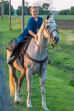Amish Farmland  Observing the White Horse Bald Eagle Nest.  White Horse, PA