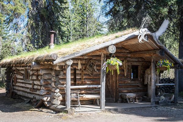 Athabascan Indian Lodge  Chena Village  Fairbanks, Alaska