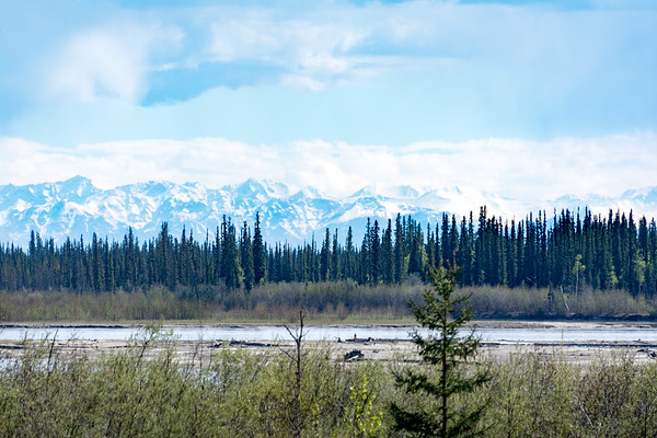Riverboat Discovery  Alaska Range  Fairbanks, Alaska