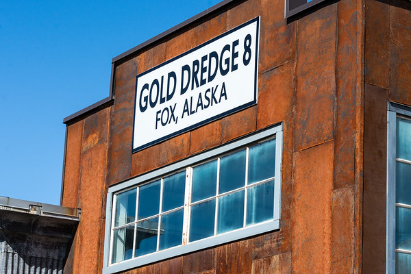 Gold Dredge #8  Fox, Alaska