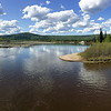 Riverboat Discovery<br /> <br /> Panorama - where the Chena and Tanana rivers meet.<br /> <br /> Fairbanks, Alaska