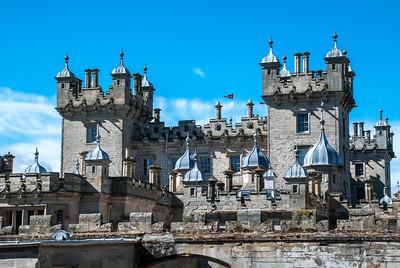 Floors Castle Roxburghe, Scotland  Built for the 1st Duke of Roxburghe in 1721.