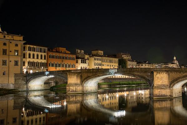 Ponte Santa Trinita  Florence, Italy