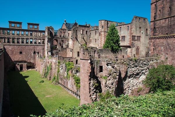Heidelberg Castle  Heidelberg, Germany