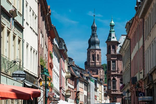 Hauptstrasse  Heidelberg, Germany