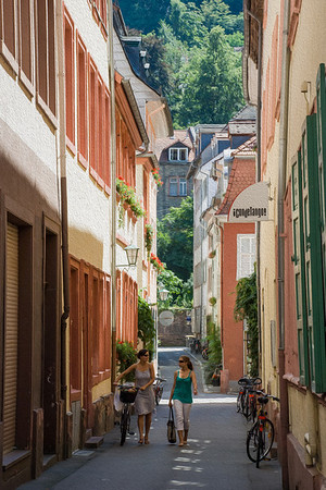 Heidelberg Side Street  Heidelberg, Germany